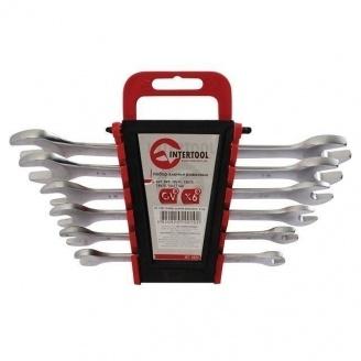 Набор рожковых ключей Intertool 12 элементов 6-32 мм (HT-1003)