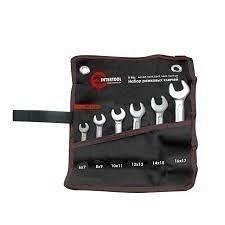 Набор рожковых ключей Intertool 6 элементов 6-17 мм (XT-1101)