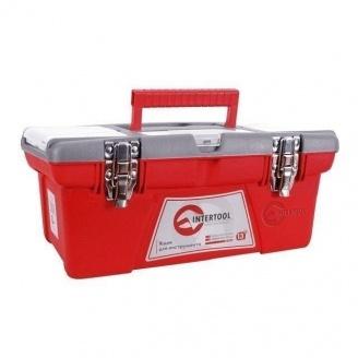 Ящик для инструмента Intertool с металлическими замками 190х210х415 мм (BX-0516)