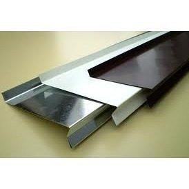Відплив віконний з оцинкованої сталі 100 мм