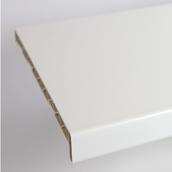 Подоконник ПВХ Brilliant 350х6000 мм белый глянец