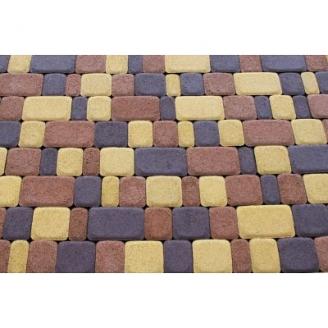 Вибропрессованная плитка тротуарная Старый город 55 мм