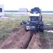 Оренда траншеєкопача T9B на базі гусеничного міні-навантажувача