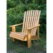 Крісло дерев'яне для саду
