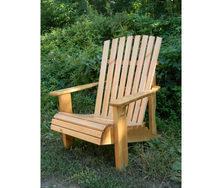 Кресло деревянное для сада