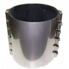 Хомут для ремонту труб каналізації 225-235х200 мм