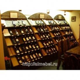 Шафа-стійка для вина