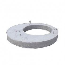 Бетонная крышка для колодца ПП10 120х1200 мм