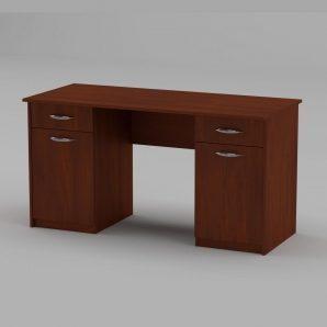 Письменный стол Компанит Учитель-2 1400х600х736 мм яблоня