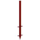 Паля гвинтова 2 витка 76х2400 мм