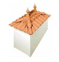 Керамическая черепица CS Roof Tile JUNIOR 270x150 мм