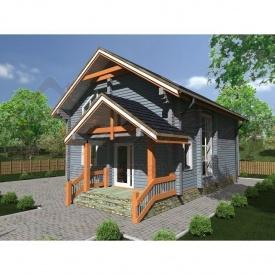 Проект дома из профилированного бруса 180 мм