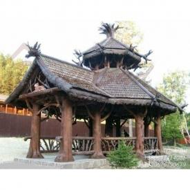 Дерев'яна альтанка DerevBud N1