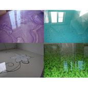 Епоксидна двокомпонентна смола для декоративних та 3D підлог