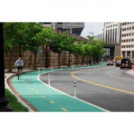 Строительство велосипедной дорожки с покрытием Suhoffcolor