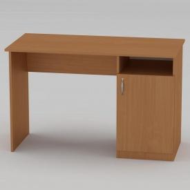 Письмовий стіл Компанит Учень 1150х550х736 мм бук