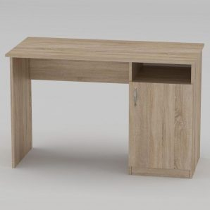 Письменный стол Компанит Ученик 1150х550х736 мм дуб сонома