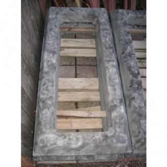 Гробница из бетона 1300х590х100 мм