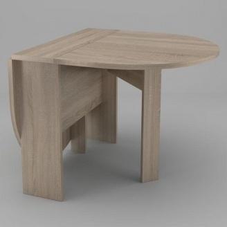 Мини стол-книжка-5 Компанит 600х182х500 мм дуб сонома