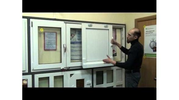 Наклонная паралельно-сдвижная система открывания