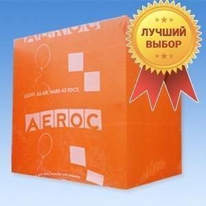 Пеноблок Aeroc 20*30*60 см