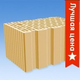 Керамический поризованый блок Кератерм 380мм, 248x380x238