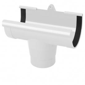 Воронка ринви Rainway 130/100 мм біла
