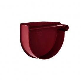 Заглушка воронки права Rainway 90 мм червона