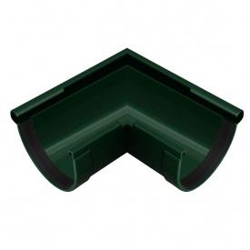 Кут жолоба зовнішній Rainway 90 градусів 130 мм зелений