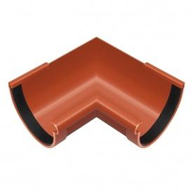 Кут жолоба внутрішній Rainway 90 градусів 90 мм цегляний