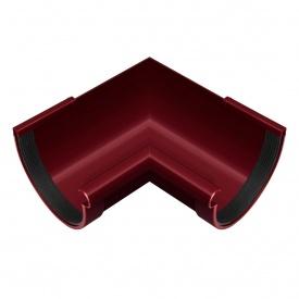 Кут жолоба внутрішній Rainway 90 градусів 90 мм червоний
