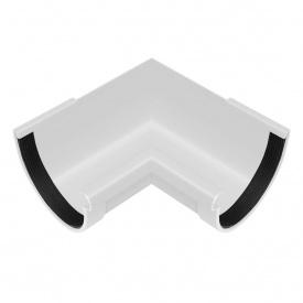 Кут жолоба внутрішній Rainway 90 градусів 130 мм білий