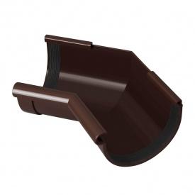 Кут жолоба внутрішній Rainway 135 градусів 130 мм коричневий