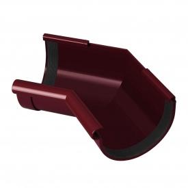 Кут жолоба внутрішній Rainway 135 градусів 130 мм червоний