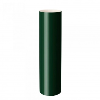 Труба водосточная Rainway 3 м 75 мм зеленая