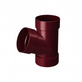 Трійник Rainway 67 градусів 100х100 мм червоний
