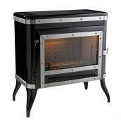 Чугунная печь INVICTA TENNESSEE 8 кВт черная