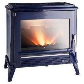 Чугунная печь INVICTA MODENA 12 кВт синяя