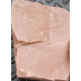 Кварцит бутовый розовый