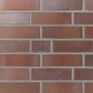 Клинкерный лицевой кирпич Terca BK1 240х115х71 мм красный пестрый