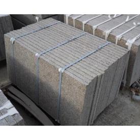 Плитка гранитная Васильевская термо 300х300х30 мм коричневая