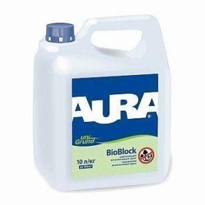 Грунтовка Aura Unigrund BioBlock 3 л