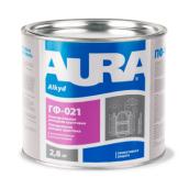 Грунтовка Aura ГФ-021 А 2,8 кг серый