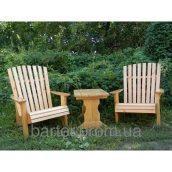 Столик журнальний дерев'яний 750*510