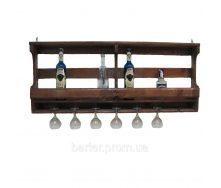 Полка для бутылок, винные стойки 1200*500*150