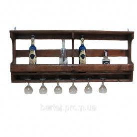 Полиця для пляшок, винні стійки 1200*500*150