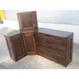Кухня дерев'яна 42 мм Тік