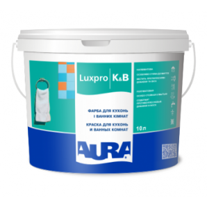Краска Aura Lux Pro K&B полуматовая 5 л