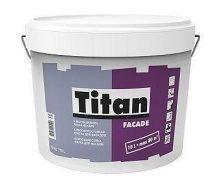 Краска фасадная Titan Facade 10 л белый