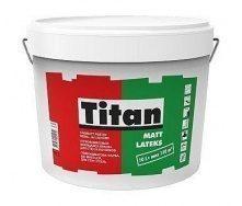 Краска интерьерная Titan Mattlatex 10 л белый
